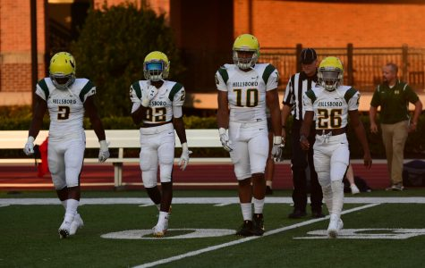 Burros take hard hit against Brentwood Academy, the only nationally ranked, top 25 team from TN