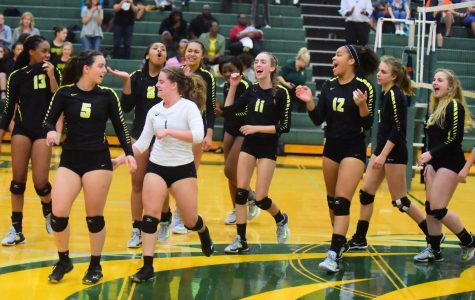 In a 5 set Senior Night thriller, the Lady Burros Volleyball team downs Dickson Co