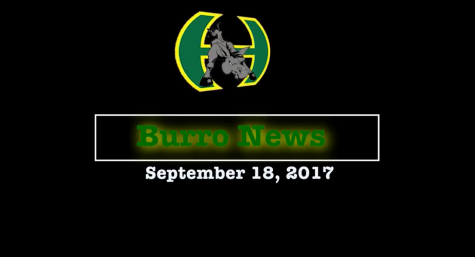 Burro News Network – September 18, 2017
