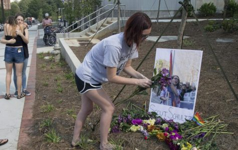 Georgia Tech students response to the police suicide of fellow student, Scout Schultz