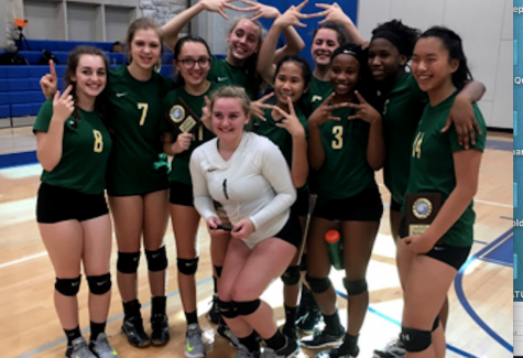 Lady Burros JV Volleyball wins Metro District Championship