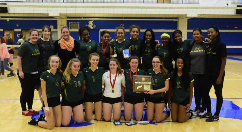 Lady Burros Volleyball beat Dickson Co. in 5 sets to win 3rd straight District 11 Championship