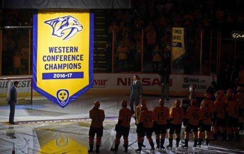 Predators rally, beat Flyers 6-5 winning 4th straight home openers under Laviolette