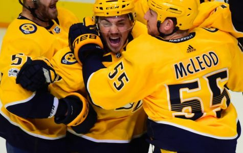 Girard gets first NHL goal, Predators beat Stars 4-1
