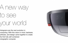 The Future of Computing! The Developer Edition of Microsoft's Hololens demonstrates potential in a mixed reality of holograms.