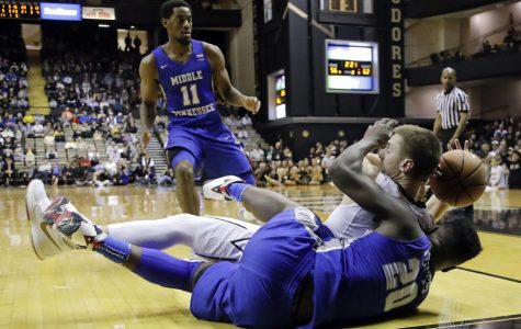 Middle Tennessee earns 3rd straight win over Vanderbilt
