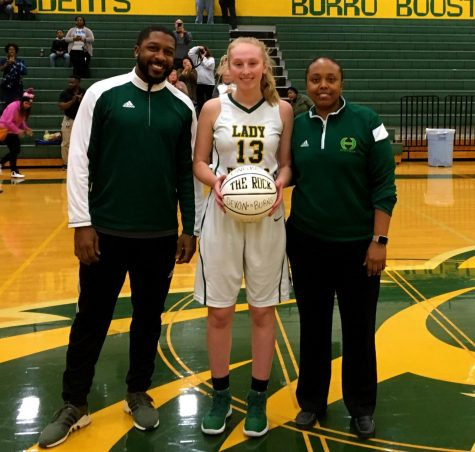 Hillsboro Lady Burro Devon Burns hits 1000!