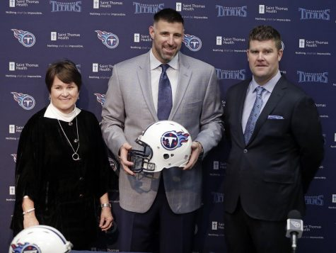 Titans introduce Mike Vrabel as their latest head coach