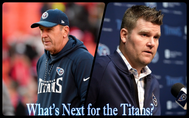 Tennessee+Titans+general+manager+Jon+Robinson+and+2017-18+Head+Coach%2C+Mike+Mularkey+part+ways.+Monday%2C+Jan.+15%2C+2018%2C+in+Nashville%2C+Tenn.+The+Titans+split+with+head+coach+Mike+Mularkey+on+Monday+after+he+revived+a+team+with+the+NFL%27s+worst+record+over+two+seasons+and+led+them+to+their+first+playoff+victory+in+14+years.+The+Titans+announced+the+move+two+days+after+a+35-14+loss+to+New+England+in+the+AFC+divisional+round.+%28AP+Photo%2FMark+Humphrey%29