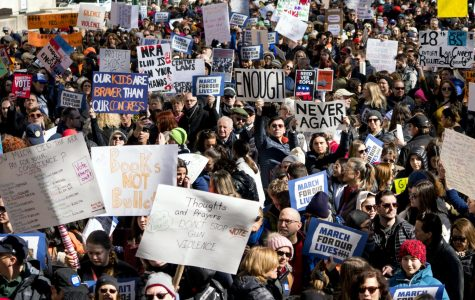 'Vote them out!': Hundreds of thousands demand gun control