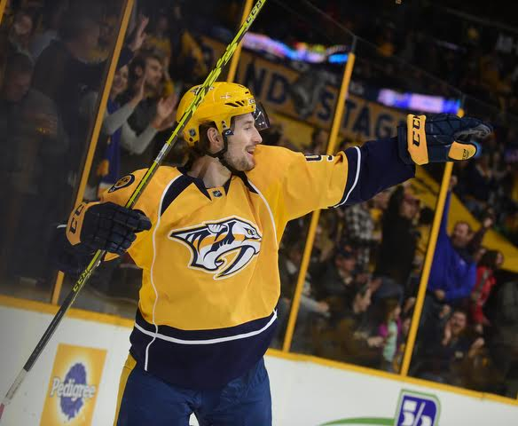 Forsburg follies continue with his second All-Star shot of the playoffs; Rinne's shut out sets up Predators to force Game 7