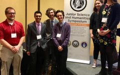 Hillsboro High School ISR Seniors and Juniors participate in the annual science symposium event at UTK