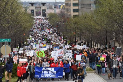 Thousands march in Tennessee cities in push for gun control