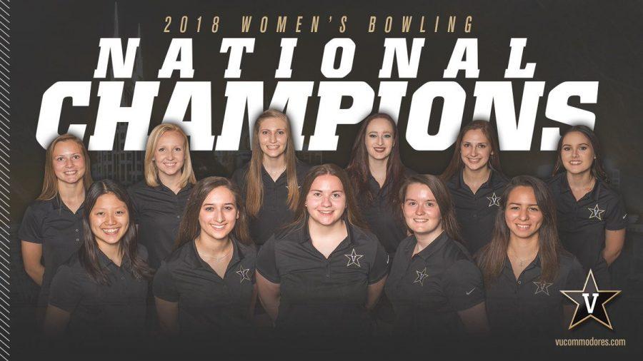 NCAA bowling championship: Vanderbilt stages comeback vs. McKendree, wins second title