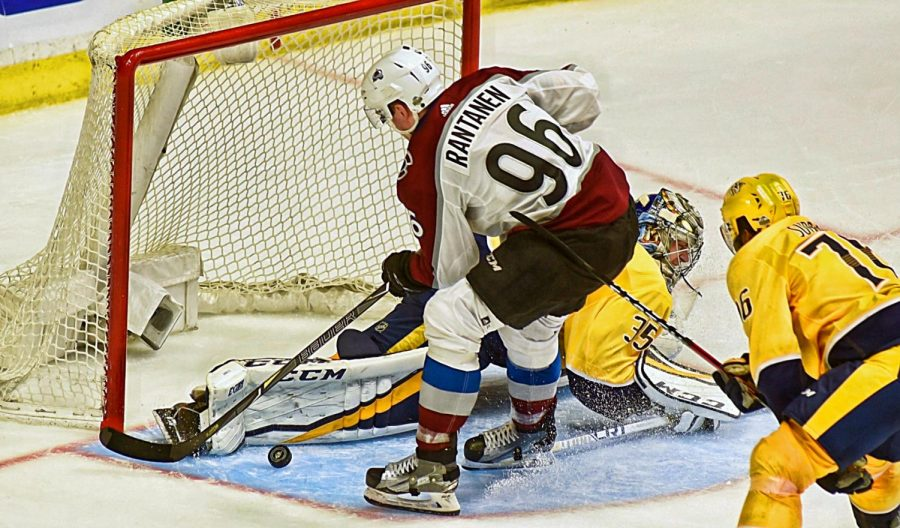 Forsberg carves up the Avalanche, scores twice in 3rd leading the Predators to 5-2 Game 1 win
