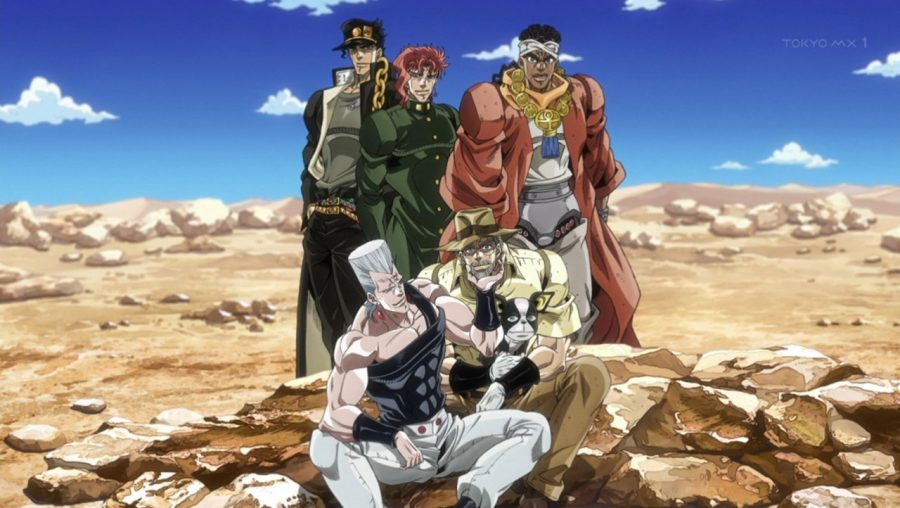 Jojo's Bizarre Adventure: Stardust Crusaders – A show with