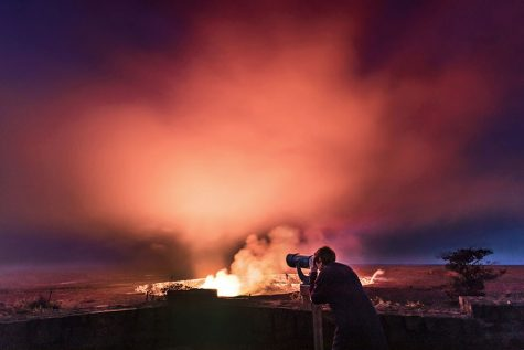 Hawaii volcano generates toxic gas plume called laze