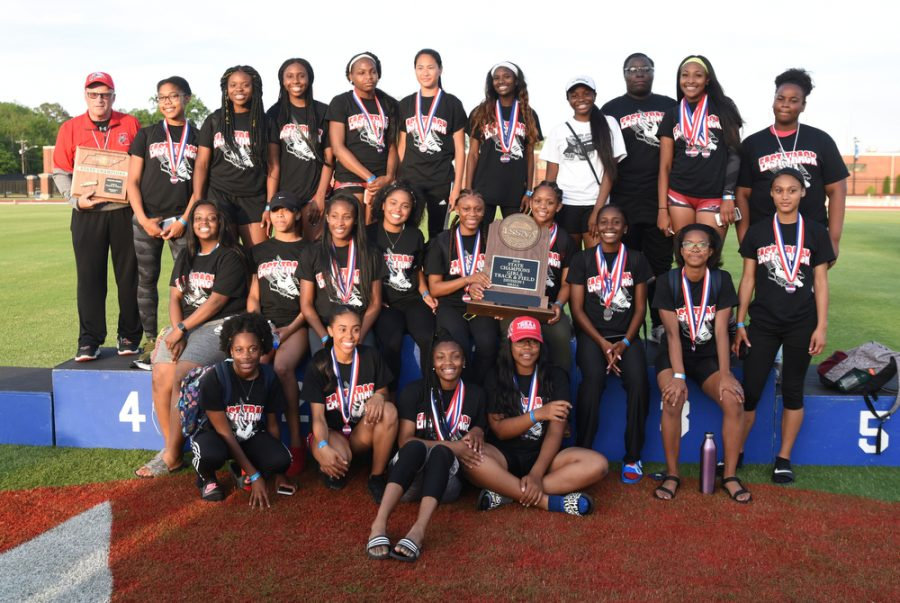 East Nashville Girls and Pearl Cohn Boys MNPS track teams run away with small division TSSAA State Titles