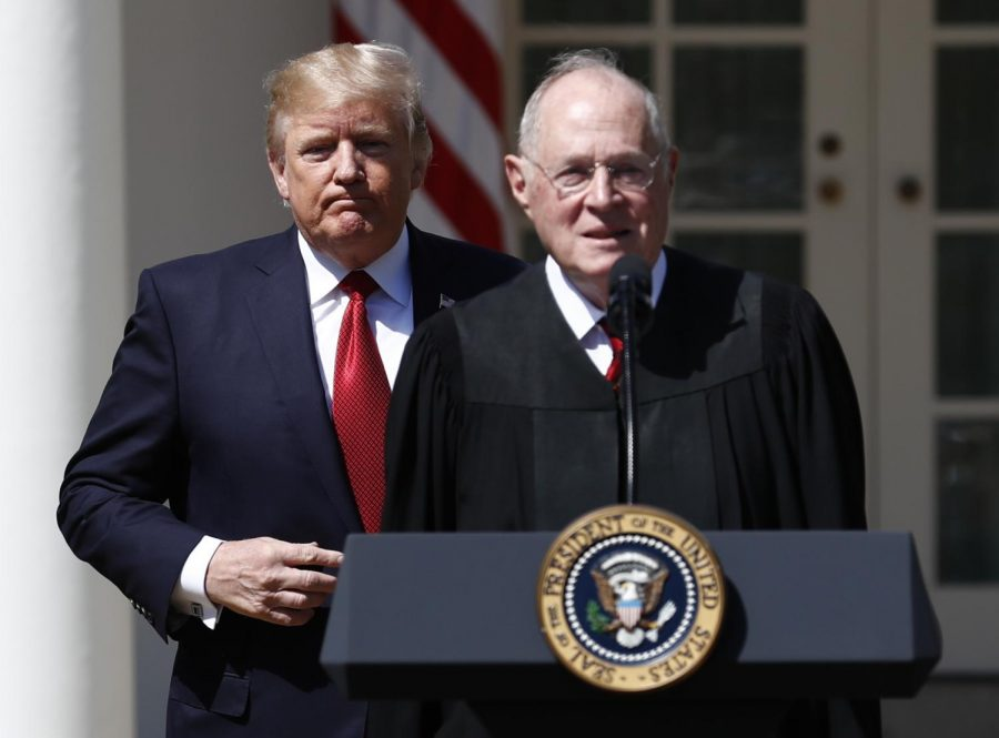 FILE+-+In+this+April+10%2C+2017%2C+file+photo%2C+President+Donald+Trump%2C+left%2C+and+Supreme+Court+Justice+Anthony+Kennedy+participate+in+a+public+swearing-in+ceremony+for+Justice+Neil+Gorsuch+in+the+Rose+Garden+of+the+White+House+White+House+in+Washington.+The+81-year-old+Kennedy+said+Tuesday%2C+June+27%2C+2018%2C+that+he+is+retiring+after+more+than+30+years+on+the+court.+%28AP+Photo%2FCarolyn+Kaster%2C+File%29
