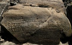 "SMART NEWS: Summer drought in Central Europe reveals ancient ""hunger stones."""