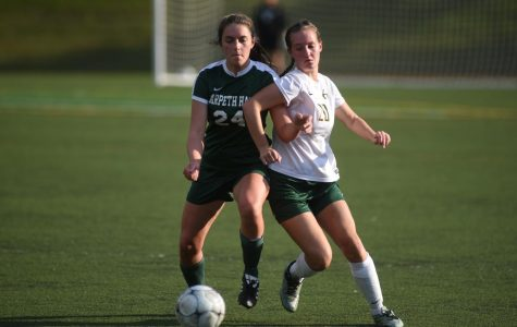 The Lady JV Burros Soccer team ties Harpeth Hall (1-1) in an exciting game