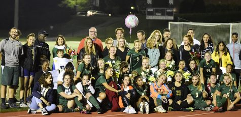 LADY BURROS SOCCER TEAM CELEBRATES TWELVE SENIORS