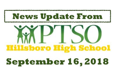 Hillsboro Info: PTSO Invest! Newsletter! Homecoming and more