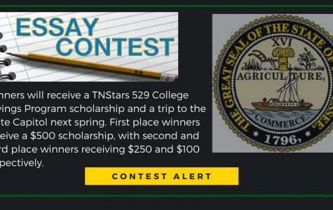 Tennessee Secretary of State, Tre Hargret, sponsors a state wide writing contest