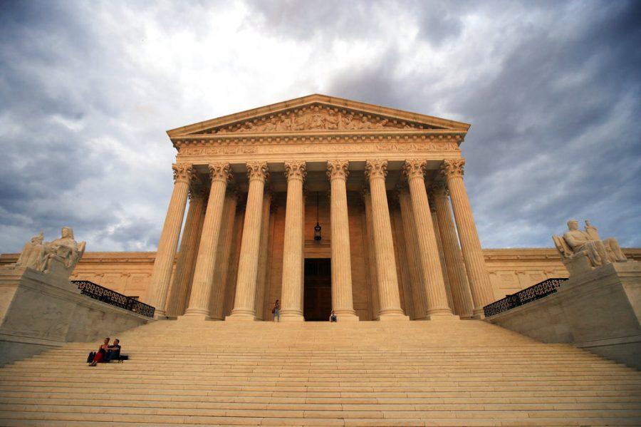 The+U.S.+Supreme+Court+is+seen+at+near+sunset+in+Washington%2C+Thursday%2C+Oct.+4%2C+2018.+%28AP+Photo%2FManuel+Balce+Ceneta%29