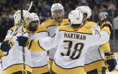 Arvidsson scores 2 as Predators hold off Islanders 4-3