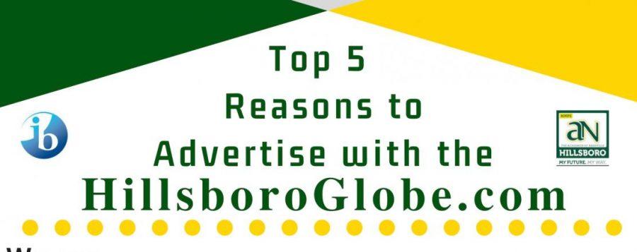 Advertise with the Hillsboro Globe