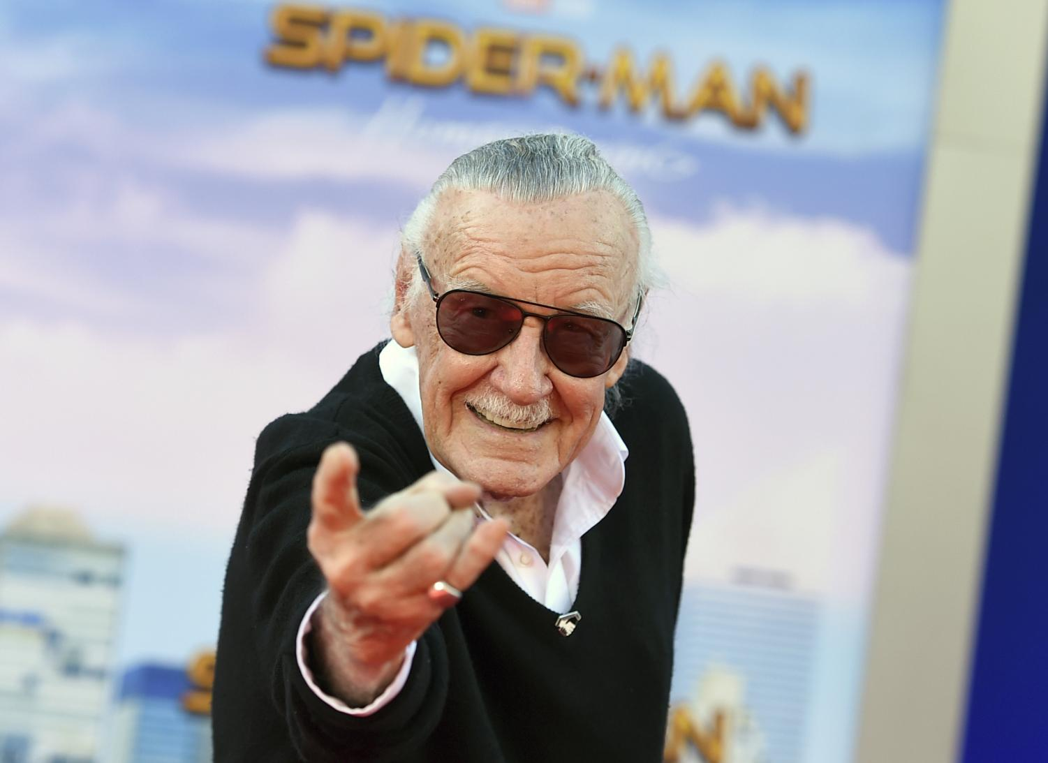 In this July 21, 2011, file photo, Stan Lee poses for a portrait at the LMT Music Lodge during Comic Con in San Diego. A small, private funeral has been held to mourn Marvel Comics mogul Stan Lee, who died Monday at age 95, and his company is making more plans to memorialize him