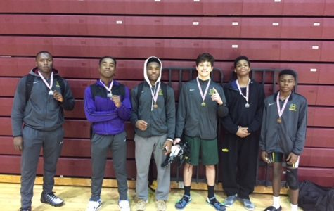 Six Hillsboro IB World School wrestlers medal at the Coyote Classic in Clarksville