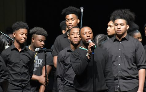 Hillsboro IB World High school celebrates African American History month with song and spoken word