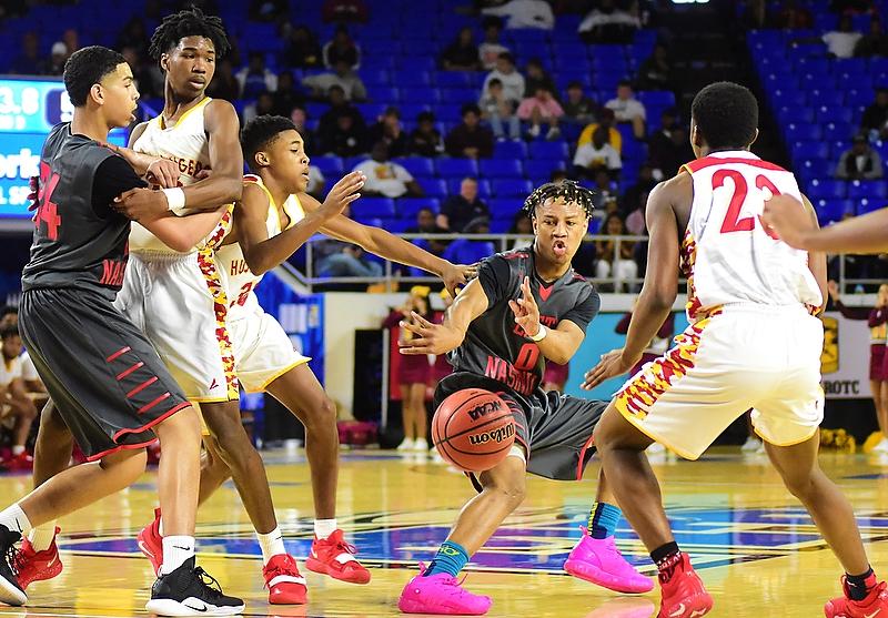 East Nashville High School stays focused to beat Howard High School, 78-75