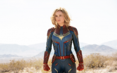 Publicity photo of Brie Larson in Captain America -  courtesy of Universal Pictures.