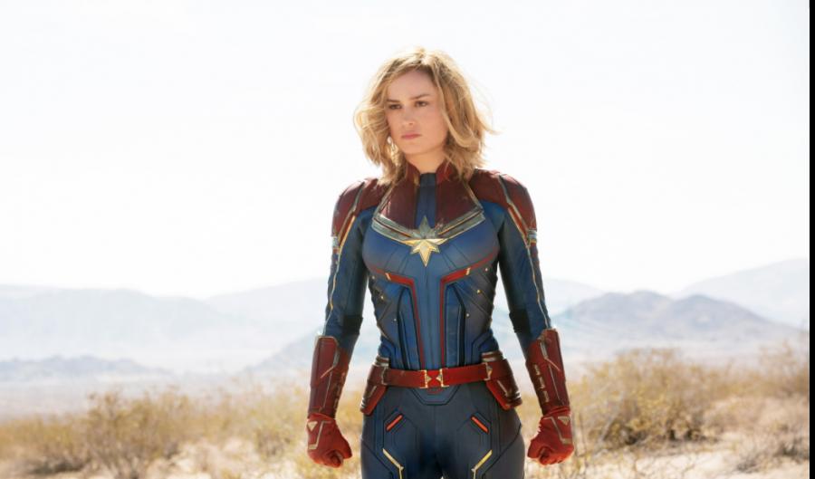 Fans react to Brie Larson's female Captain Marvel!