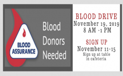 SAVE  3  LIVES! GIVE BLOOD! -Blood Drive Coming to Hillsboro High