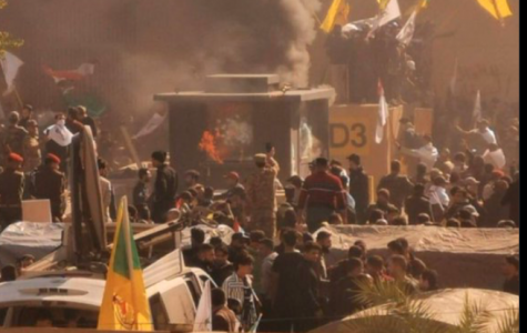 Breaking News: Iraqi supporters of Iran-backed militia attack US Embassy
