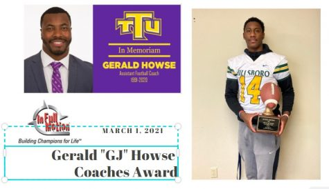"In Full Motion Announces Inaugural Gerald ""GJ"" Howse Award"