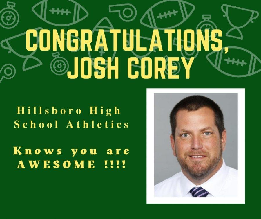 Titans Josh Corey recognized for distinguished service