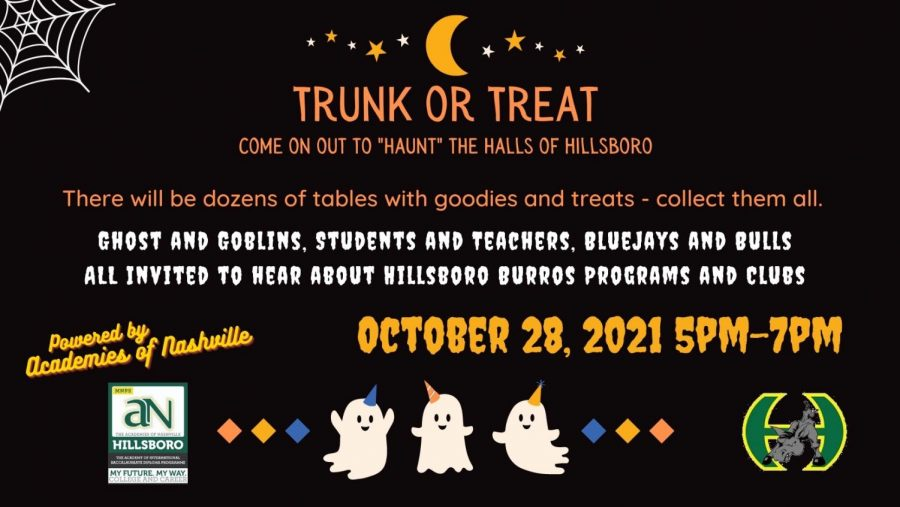 Trunk or Treat - your chance to haunt the halls of Hillsboro